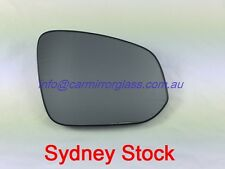 RIGHT DRIVER SIDE TOYOTA RAV4 2013 Onward HEATED MIRROR GLASS WITH BASE
