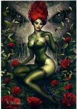 Nathan Szerdy SIGNED DC Comics Batman Artist Proof AP Art Print ~ Poison Ivy