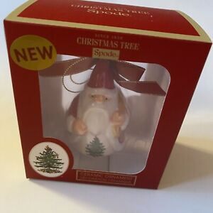 Spode Christmas Tree Gnome With Sack Ornament Brand New