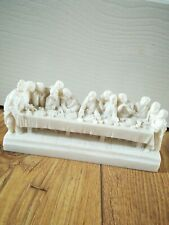 The Last Supper Catholic Relic Artifact Resin Figurine