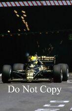 Ayrton Senna Lotus 98T Monaco Grand Prix 1986 Photograph 1