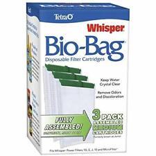 Tetra Aquarium Filter Bio Cartridge Whisper Assembled Fish Tank Medium , 6 Pack