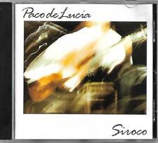 Paco de Lucia Siroco CD