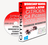 Service Workshop Manual & Repair Manual CITROEN C4 PICASSO 2006-2013 +WIRING