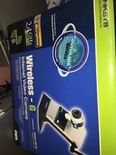 linksys wireless G internet video camera wvc54g
