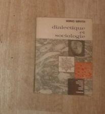 GURVITCH Georges. Dialectique et sociologie. Flammarion. 1962.