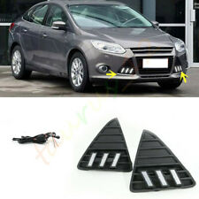 2* Mustang Style LED Daytime Running Light Fog Lamp For Ford Focus 2012-2014