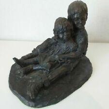 Vintage Bronze Figurine Art Sculptures