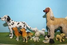 TOY DOG SET, SCHLEICH DALMATIAN, AND MORE ANIMAL FIGURES