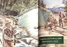 Abercrombie & Fitch 1959 Camping & Fishing Catalogue