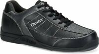 New Dexter Men's Ricky III Black/Alloy Bowling Shoes Size 7.5