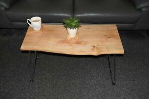 Elm Hardwood Coffee Table Live Edge # waney #English Elm