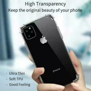 CRYSTAL CLEAR Shockproof Case iPhone 12/11 Pro Max XR X XS 8 7 6 SE 2