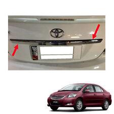 Rear Trunk Lid Cover Upper Chrome Fit Toyota Vios Yaris Sedan Belta 2010 -2013