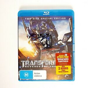 Transformers Revenge of the Fallen Movie Bluray Free Postage Blu-ray - Action