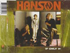 HANSON IF ONLY  CD SINGLE 3 TRACKS 1 VIDEO