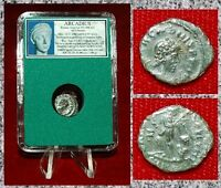 Ancient Roman Empire Coin Of ARCADIUS Victory Dragging Captive By Hair