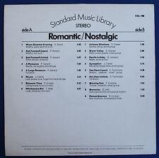 D. Lindup J. Clarke Std Music Library Romantic Nostalgic ESL 106 MASTER ROOM