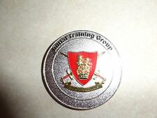 CHALLENGE COIN ARMY FOUNDATION COLLEGE HARROGATE CORPORALS MESS INITIAL TRAINING
