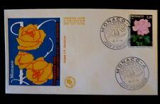 MONACO PREMIER JOUR FDC YVERT  1200    ROSE  P .GRACE     1,20F       1979