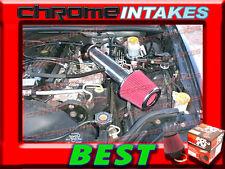 K&N+BLACK RED 91-04 JEEP CHEROKEE/GRAND 2.5 2.5L/4.0 4.0L AIR INTAKE INTAKE 2
