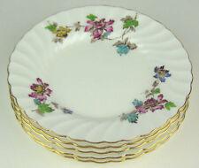 "Set 5 x Bread Plates 6 1/8"" Minton Vermont s365 vintage bone china England"