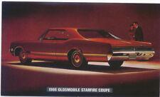 Oldsmobile Starfire Coupe 1966 original Postcard