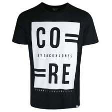 Camisetas de hombre JACK & JONES color principal negro