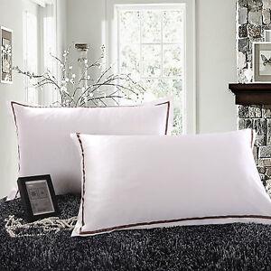 Single Jasmine Silk 100% 22 Momme Charmeuse Silk Pillowcase(CREAM) 75 cm x 50 cm