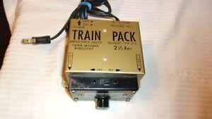 Vintage HO Scale Atlas Hobby Transformer Power Pack #Train Pack for DC, Gold