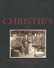CHRISTIE'S GAINES de GRAFFENRIED Collection Historic Arms Texas Catalog 2001