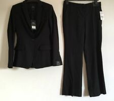 Tailleur e abiti sartoriali da donna neri pantaloni
