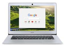 "Acer Chromebook 14 CB3-431 14"" Laptop N3060 2GB 32GB eMMC Silver NX.GC2EK.003 #C"