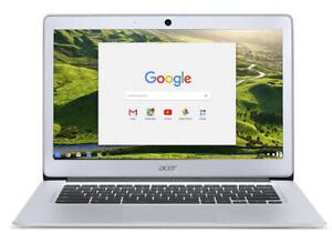 "Acer Chromebook 14 CB3-431 14"" Laptop N3060 2GB 32GB eMMC Silver NX.GC2EK.003"
