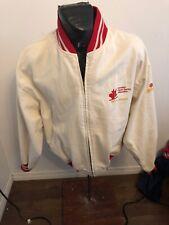 Mens Xlarge Zip Front Jacket Canadian Figure Skating Association Ctv Sports