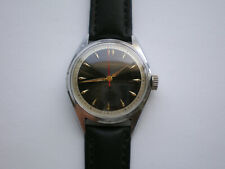 RARE WW2 JUNGHANS CHRONOMETER cal.82/1 Military GERMAN Watch 1940s