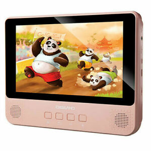 DigiLand DL9002: Portable DVD/Google Wi-Fi Tablet 9'' Touchscreen 16GB - Pink