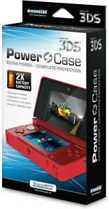NEW RED Power Case Extended Backup Battery for 3DS Console (NOT for NEW 3DS) M21