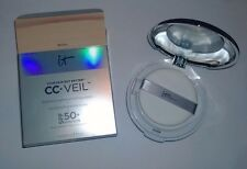 IT Cosmetics CC+ Veil Beauty Fluid Foundation Cushion Compact - Medium - NIB