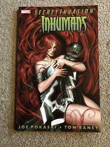 Marvel Secret Invasions Inhumans Comic Book