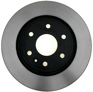 Disc Brake Rotor-Black Hat Front ACDelco Pro Brakes 18A2497