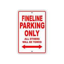 Fineline Parking Only Boat Ship Decor Novelty Notice Aluminum Metal Sign