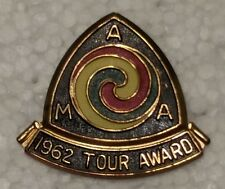 VINTAGE AMA 1962 AMERICAN MOTORCYCLE ASSOCIATION GYPSY TOUR AWARD PIN
