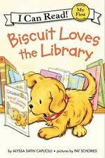 Biscuit Loves The Library (my First I Can Read): By Alyssa Satin Capucilli
