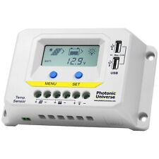20A solar panel charge controller / regulator with LCD display and dual USB port