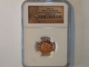2009-S 1C ONE Cent NGC PF 69 RD ULTRA CAMEO RED UNC BIRTH & CHILDHOOD