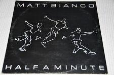 """Matt Bianco - Half a minute - 80er - 12"""" Maxi Single Vinyl Schallplatte LP"""