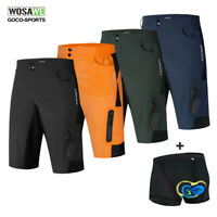 Men's Cycling Baggy Shorts Downhill Sports MTB Mountain Bike Bicycle Short Pants