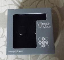 FLAT PLATE 2G 2W DIMMER SOCKET -MATT BLACK