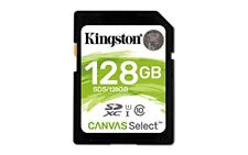 Mdn Sds/128gb Kingston 128gb SDXC Canvas Select 80r Cl10